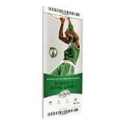 That's My Ticket Boston Celtics 2008 NBA Finals Game 1 Canvas Ticket