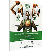 That's My Ticket Boston Celtics Big 3 Debut Canvas Ticket