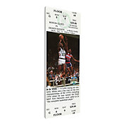 That's My Ticket Boston Celtics Jo Jo White Retirement Canvas Ticket