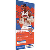 That's My Ticket New York Knicks Carmelo Anthony Canvas Ticket