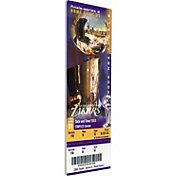 That's My Ticket Los Angeles Lakers 2002 NBA Finals Game 1 Canvas Ticket