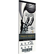 That's My Ticket San Antonio Spurs 2005 NBA Finals Game 4 Canvas Ticket