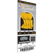 That's My Ticket San Antonio Spurs 2013 NBA Finals Game 4 Canvas Ticket