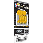 That's My Ticket San Antonio Spurs 2014 NBA Finals Game 1 Canvas Ticket