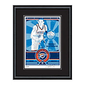That's My Ticket Oklahoma City Thunder Russell Westbrook Sports Propaganda Framed Serigraph
