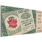 That's My Ticket Alabama Crimson Tide 1946 Rose Bowl Canvas Mega Ticket