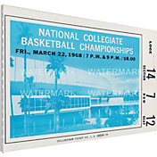 That's My Ticket UCLA Bruins 1968 NCAA Basketball Finals Canvas Mega Ticket