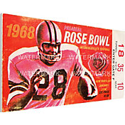 That's My Ticket UCLA Bruins 1968 Rose Bowl Canvas Mega Ticket