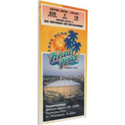 That's My Ticket UConn Huskies 1999 NCAA Final Four Canvas Mega Ticket