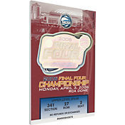 That's My Ticket Florida Gators 2006 NCAA Final Four Canvas Mega Ticket