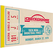 That's My Ticket Kentucky Wildcats 1978 NCAA Basketball Finals Canvas Mega Ticket