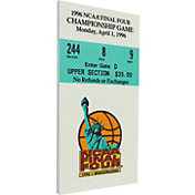 That's My Ticket Kentucky Wildcats 1996 NCAA Final Four Canvas Mega Ticket