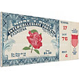 That's My Ticket Illinois Fighting Illini 1952 Rose Bowl Canvas Mega Ticket