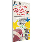 That's My Ticket Michigan Wolverines 1989 Rose Bowl Canvas Mega Ticket