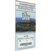 That's My Ticket Michigan State Spartans 2007 NCAA Frozen Four Canvas Mega Ticket