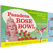 That's My Ticket Purdue Boilermakers 1967 Rose Bowl Canvas Mega Ticket
