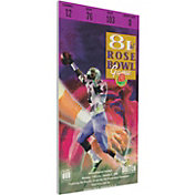 That's My Ticket Penn State Nittany Lions 1995 Rose Bowl Canvas Mega Ticket