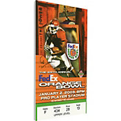 That's My Ticket USC Trojans 2003 Orange Bowl Canvas Mega Ticket