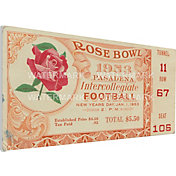 That's My Ticket USC Trojans 1953 Rose Bowl Canvas Mega Ticket