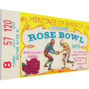 That's My Ticket USC Trojans 1975 Rose Bowl Canvas Mega Ticket