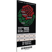That's My Ticket TCU Horned Frogs 2011 Rose Bowl Canvas Mega Ticket