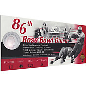 That's My Ticket Wisconsin Badgers 2000 Rose Bowl Canvas Mega Ticket