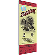 That's My Ticket Wisconsin Badgers 1999 Rose Bowl Canvas Mega Ticket