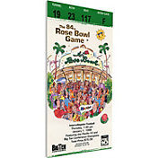 That's My Ticket Washington Huskies 1998 Rose Bowl Canvas Mega Ticket