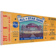That's My Ticket 1970 NHL All-Star Game Ticket