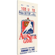 That's My Ticket 1982 NHL All-Star Game Ticket