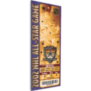 That's My Ticket 2002 NHL All-Star Game Ticket