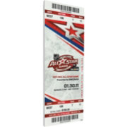 That's My Ticket 2011 NHL All-Star Game Ticket