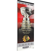 That's My Ticket Chicago Blackhawks 2010 Banner Raising Ticket
