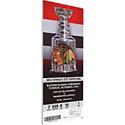 That's My Ticket Chicago Blackhawks 2013 Banner Raising Ticket