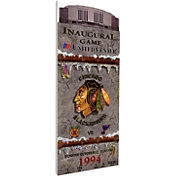 That's My Ticket Chicago Blackhawks United Center First Game Ticket