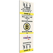 That's My Ticket Boston Bruins Cam Neely Fastest to 50 Game Ticket