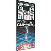 That's My Ticket Montreal Canadiens 1986 Stanley Cup Final Ticket
