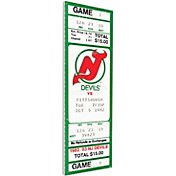 That's My Ticket New Jersey Devils First Game Ticket