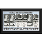 That's My Ticket Los Angeles Kings 2012 Stanley Cup Final Framed Ticket Canvas