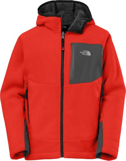 4be938aea The North Face Boys' Chimborazo Fleece Hoodie Jacket
