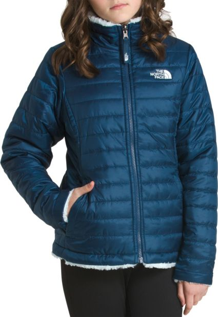 71b3ce783521 The North Face Girls  Reversible Mossbud Swirl Insulated Jacket ...