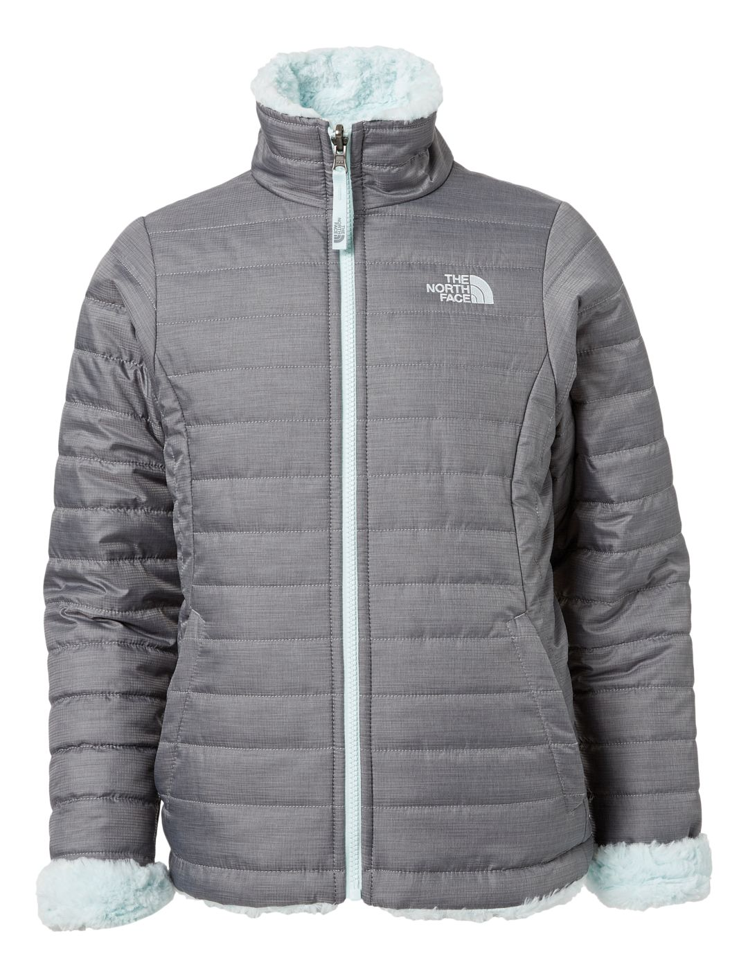 Brandneu Online-Einzelhändler heiß-verkaufender Fachmann The North Face Girls' Reversible Mossbud Swirl Insulated Jacket