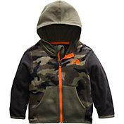 The North Face Infant Boys' Glacier Full Zip Hooded Fleece Jacket
