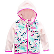 The North Face Infant Girls' Glacier Full Zip Hooded Fleece Jacket