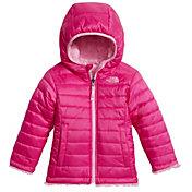 The North Face Toddler Girls' Reversible Mossbud Swirl Fleece Jacket