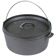 Stansport Cast Iron 4 Quart Dutch Oven- Without Legs