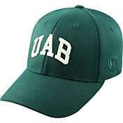 Top of the World Men's UAB Blazers Green Premium Collection M-Fit Hat