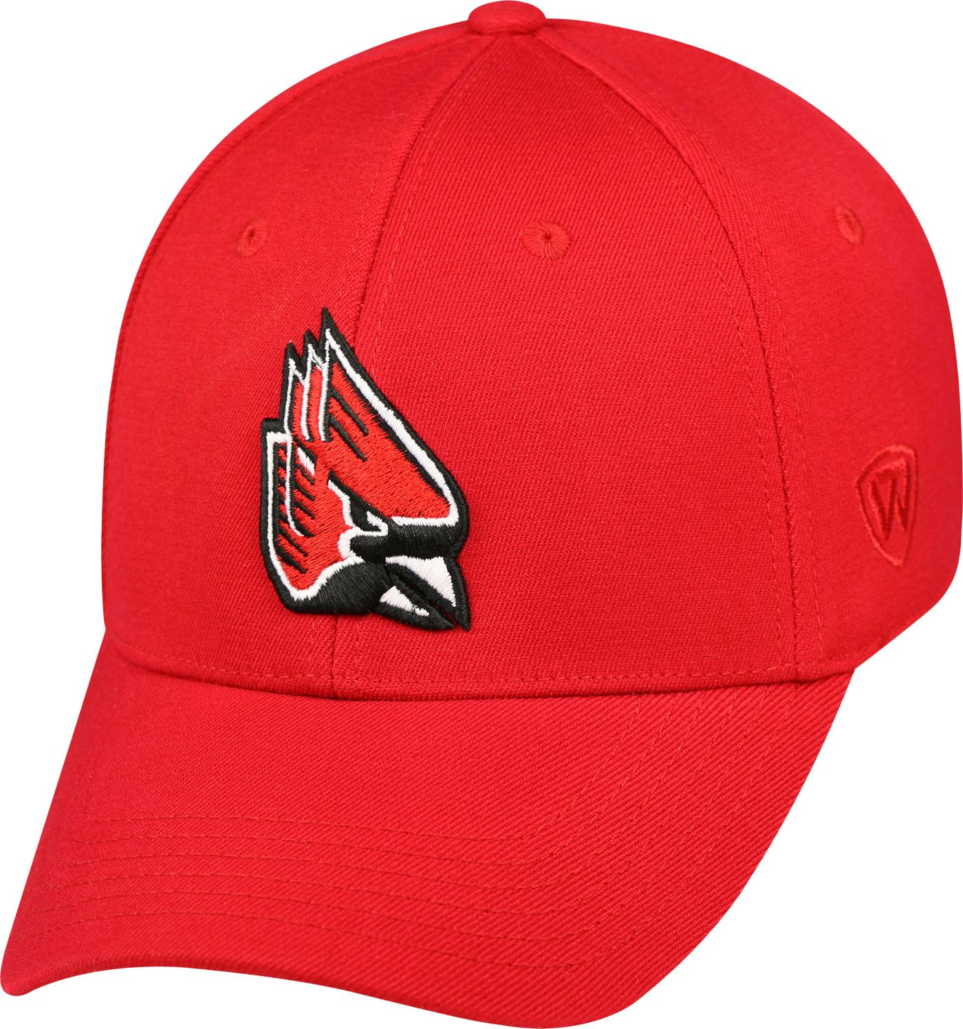 Top of the World Men's Ball State Cardinals Premium Collection Cardinal M-Fit Hat