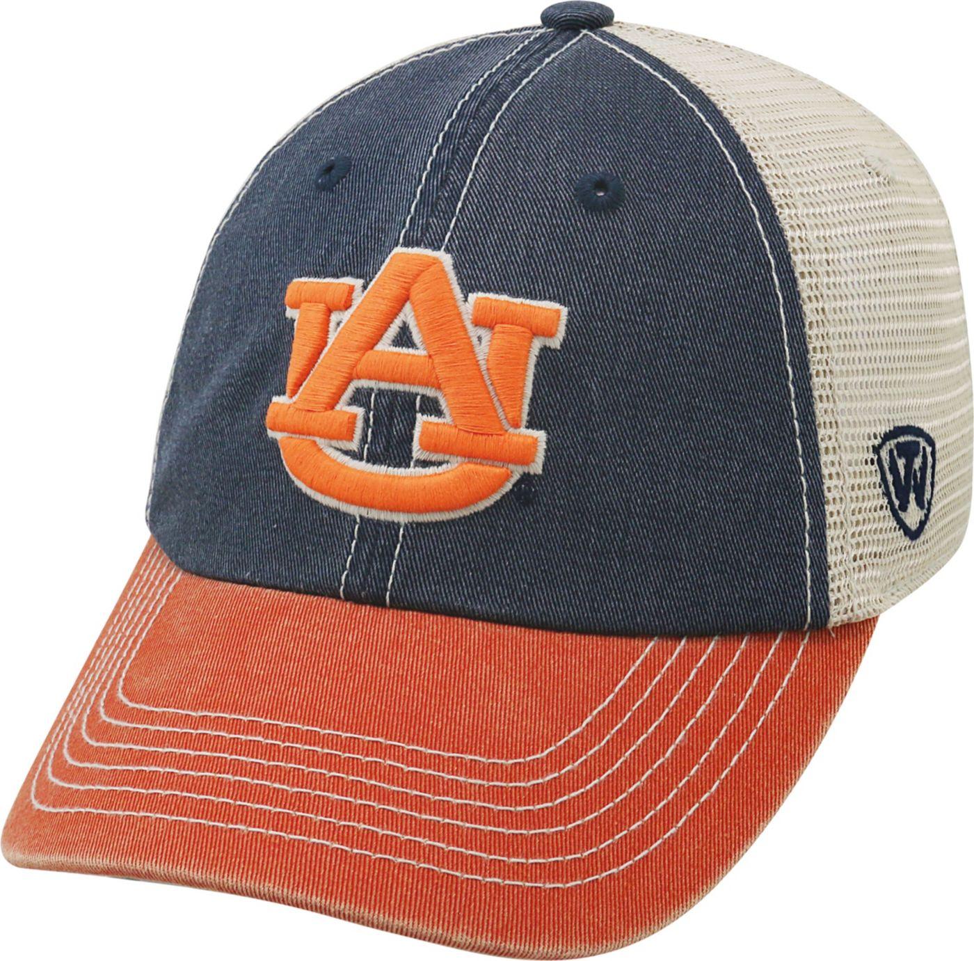 Top of the World Men's Auburn Tigers Blue/White/Orange Off Road Adjustable Hat