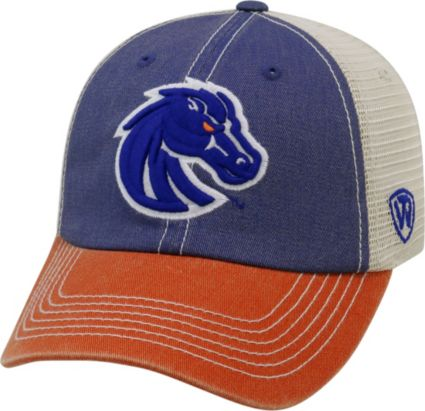 c33a422750447e ... Men's Boise State Broncos Blue/White/Orange Off Road Adjustable Hat.  noImageFound